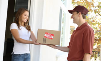 Home delivery options|The ability to order goods for delivery to the travel destination or home.