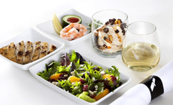 Inflight Catering, pre-ordering|Passenger are able to order food & drinks via there own smart devices.